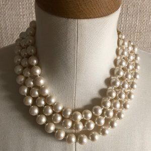 Pearl necklace by Carolee